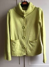 Pretty Wallis Wool Cardigan Jacket, Sz 14, Soft Spring Green, WORN ONCE