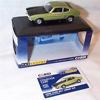 VANGUARDS FORD Capri MK1 1600GT XLR Fern Green Metallic RHD UK VA13310 ltd ed