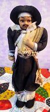 Vintage Paper Mache Matador Doll Harrods Elios Italy Tags