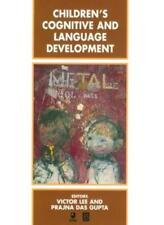Children's Cognitive and Language Development (Child Development) By Victor Lee