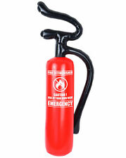 Inflatable Fire Extinguisher Blow Up Fire Man Woman Fancy Dress Accessory Prop