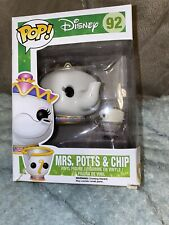 MRS. POTTS & CHIP Funko Pop, Beauty And The Beast,