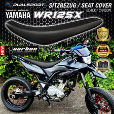 YAMAHA WR125X Sitzbezug, Seat Cover  CARBON by DSFX