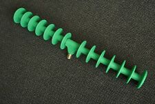 1 X SPIRAL T-BAR PLASTIC 12 SLOT FEEDER ROD REST