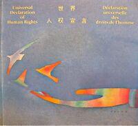 DECLARATION UNIVERSELLE DROITS DE L'HOMME universal declaration of human rights+