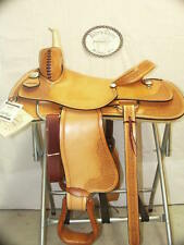 "16"" G.W. CRATE CUTTING PENNING SADDLE TRAIL MADE IN ALABAMA FREE SHIP HERMAN OAK"