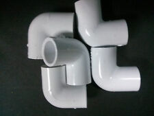 """1/2 """" inch PVC sched. 40 Elbows 90 deg. LOT of 5 Plumbing Sprinkler Made in USA!"""