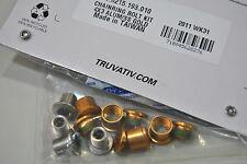 Kit Viti/Bulloni SRAM Gold x Guarnitura Triple  4Fori  Gold  12Pz