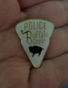 Vintage BUFFALO GROVE ILLINOIS POLICE PIN Hat Lapel Tie Jacket