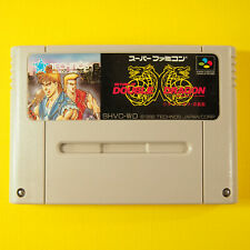 Return of Double Dragon (Nintendo Super Famicom SNES SFC, 1992) Japan Import