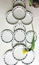 Arzberg Germany 12 Piece Dinner Set Vintage Mint Blue Yellow White Floral