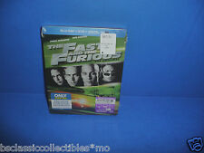 The Fast And The Furious Steelbook Best Buy Exclusive Blu-Ray+DVD+Digital HD New
