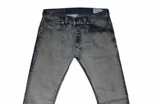 Diesel Thavar 0820D Jeans Ajustados W29 L32 100% Auténtico