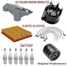Tune Up Kit Filters Cap Wire Spark Plugs For DODGE RAM 2500 VAN V6; 3.9L 2001