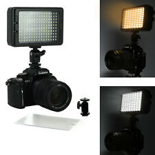 Dimmable Camera LED 160 Photo Video Panel Light for Canon Sony DSLR Mirrorless