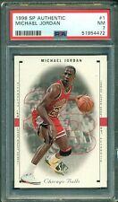 Michael Jordan 1998 Upper Deck SP Authentic #1 ** PSA 7 ** Just Graded NBA GOAT