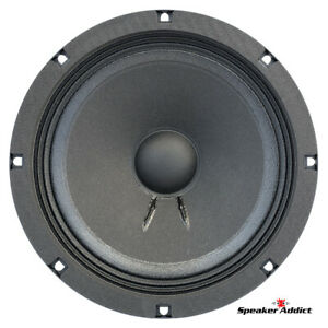 "Faital Pro 8FE200 4ohm 8"" Woofer Midrange Midbass Replacement speaker 260W 95dB"