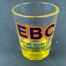 Encore Beach Club Shot Glass Wynn Hotel Casino Las Vegas New Summer EBC