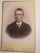Stuttgart - Ernst Stöckle als junger Mann - Portrait / KAB