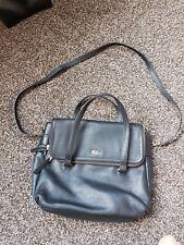 TULA  By Radley  Black Leather Grab/ Shoulder Bag FREE UK POSTAGE