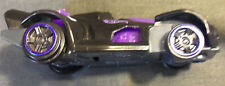 LOT # 1155 HOT WHEELS MCDONALD'S HAPPY MEAL BLACK & PURPLE RACE CAR 2015 3 3/8in