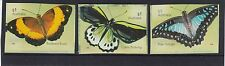 AUSTRALIA 2016 BUTTERFLIES Insects P&S self Adhesive set of 3 x 70c  MNH