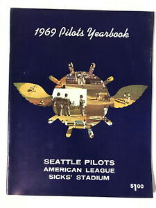 1969 Seattle Pilots Baseball Yearbook - RARE - VINTAGE