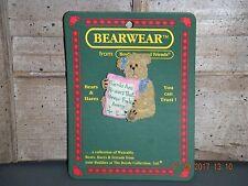 Boyds Bears 2006 ~Mia Goodfriend~ Bearwear Pin Style# 26086