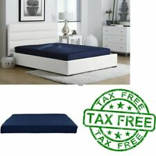 6 Quilted Mattress Full Size Soft Foam Home Bedroom Bed Sleeping Furniture New