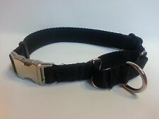 Martingale Dog Collar With Metal Buckle USA Made Tough