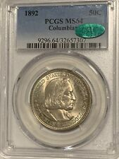 1892 World's Columbian Exposition Commemorative Half Dollar - PCGS MS 64 - CAC