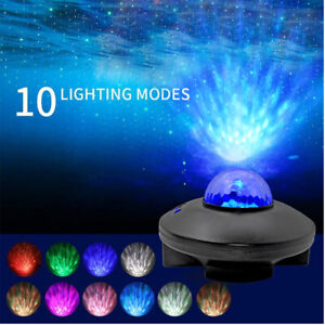 USB LED Galaxy Projector Starry Night Lamp Star Sky Projection Night Light UK