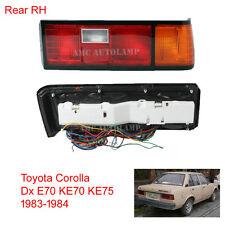 Tail Light Lamp New RH for Toyota Sedan Corolla Dx E70 KE70 KE75 1983-1984