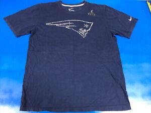 Nike New England Patriots TSHIRT Superbowl XLIX Reflective-Foil Logos