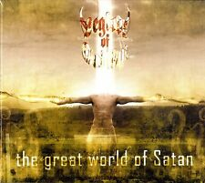 LEGION OF SADISM The Great World of Satan CD Ottime Condizioni.