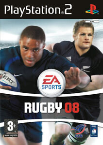JEU PS2 EA SPORTS RUGBY 08