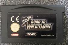 Road to Wrestlemania Nintendo Gameboy Advance