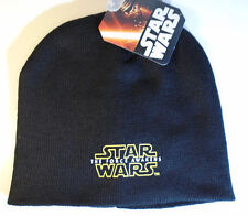 Star Wars The Force Awakens Knit Hat Beanie One Size Fits Most – New with Tags