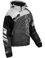 Castle X Womens Code Silver/Black/Charcoal Jacket M-2XL Snowmobile Coat