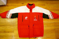 Rare AC MILAN  Winter insulated Jacket Lotto Motta Italy size Large Vintage