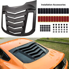 Rear Window Louver Sun Shade ABS Cover For Ford Mustang 2015 2016 2017 2018 2019