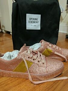 Opening Ceremony La Cienega Pink Glitter Shoes As Seen On Taylor Swift