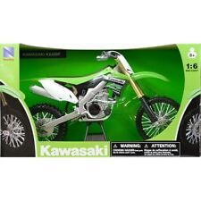 NEW RAY MODELLINO MOTO CROSS KAWASAKI KX 450 F SCALA 1:12 MODEL BIKE IDEA REGALO