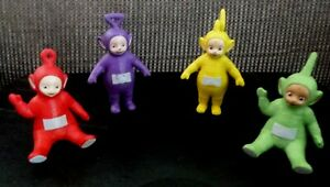 Teletubbies Deluxe Collectible figures Po Tinky Winky Dipsy & Laa Laa 8cm