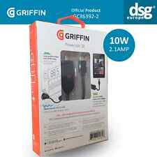 GRIFFIN POWERJOLT SE 2.1 AMP FAST CAR CHARGER FOR SAMSUNG LG MOTOROLA HTC