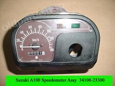Suzuki A100 Speedometer Assy 1988-1992 NOS A100 SPEEDO GAUGE Cover 34100-23300