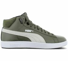 Puma Smash v2 mid Puretex 367853-02 Men's Winter Shoes Boots Sneaker Green New