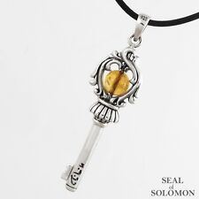 Profusion King Solomon Key of Soul in Silver 925 Kabbalah Judica Pendant