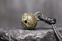 Ancient Viking Bronze Bell, Patina Pendant, 600-1200 AD, Kiev Rus, Excavated