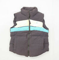 Jack Wills Womens Size 10 Cotton Blend Multi-Coloured Heavyweight Gilet